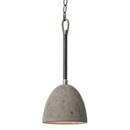 Regina Andrew Design Lighting Concrete Dome Pendant 16-1061