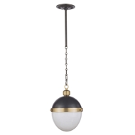 Regina Andrew Lighting Otis Pendant Medium - Blackened Brass/Natural Brass