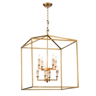 Regina Andrew Lighting Cape Lantern - Antique Gold Leaf