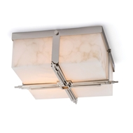 Regina Andrew Lighting Gotham Flush Mount - Polished Nickel