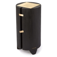 Regina Andrew Design Home Tobias Accent Table - Ebony 30-1055