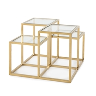 Regina Andrew Home Astoria Side Table - Gold 30-1062GLD