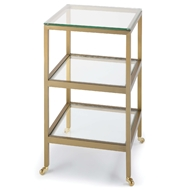 Regina Andrew Home Alister Side Table - Brass 30-1064BRS