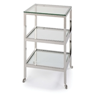 Regina Andrew Home Alister Side Table - Polished Nickel