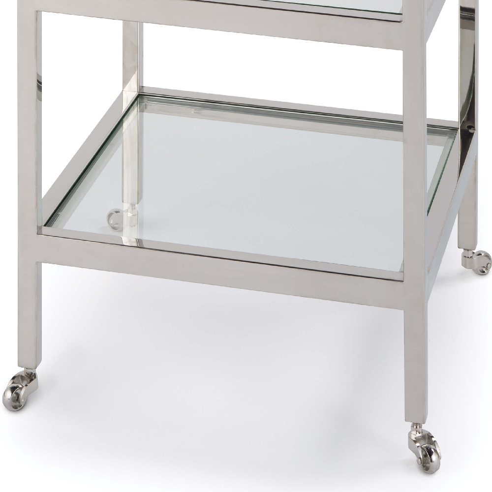 Regina Andrew Home Alister Side Table - Polished Nickel 30-1064PN
