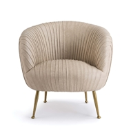 Regina Andrew Home Beretta Leather Chair - Cappuccino