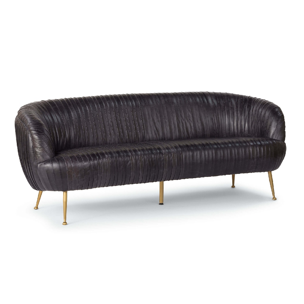 Regina Andrew Home Beretta Leather Sofa