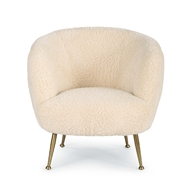 Regina Andrew Home Beretta Sheepskin Chair