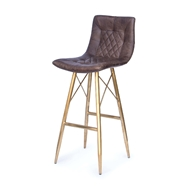 Regina Andrew Home Buster Bar Stool - Distressed Whiskey 32-1060BRN