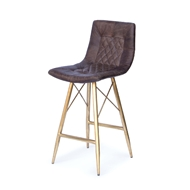 Regina Andrew Home Buster Counter Stool - Distressed Whiskey 32-1061BRN