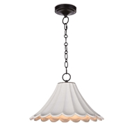 Regina Andrew Lighting Cally Ceramic Pendant Large 16-1215