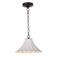 Regina Andrew Lighting Cally Ceramic Pendant Small 16-1214