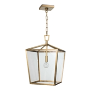 Regina Andrew Lighting Camden Lantern Small - Natural Brass