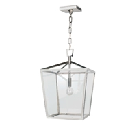 Regina Andrew Lighting Camden Lantern Small - Polished Nickel