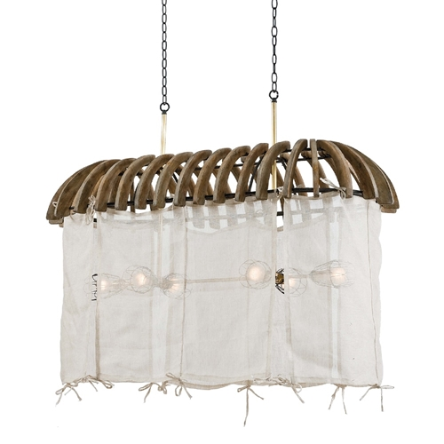 Regina Andrew Lighting Canoe Chandelier 16-1110