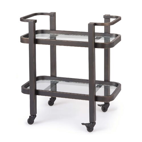Regina Andrew Home Carter Bar Cart Small - Oil Rubbed Bronze 31-1030ORB