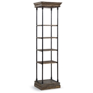 Regina Andrew Home Chateau Etagere Small - Blackened Iron