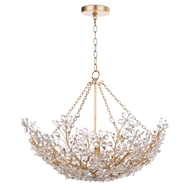 Regina Andrew Lighting Cheshire Basin Pendant - Gold Leaf