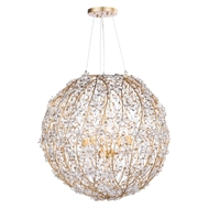 Regina Andrew Lighting Cheshire Chandelier Large - Gold Leaf 16-1173GL