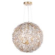 Regina Andrew Lighting Cheshire Chandelier Small - Gold Leaf 16-1184GL