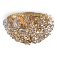 Regina Andrew Lighting Cheshire Flush Mount - Gold Leaf