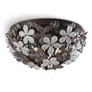 Regina Andrew Lighting Cheshire Flush Mount - Oil Rubbed Bronze