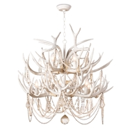 Regina Andrew Lighting Cheyanne Antler Chandelier 16-1203