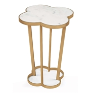 Regina Andrew Home Clover Table - Natural Brass