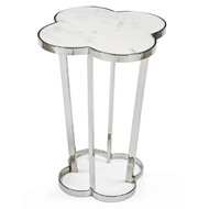 Regina Andrew Home Clover Table - Polished Nickel