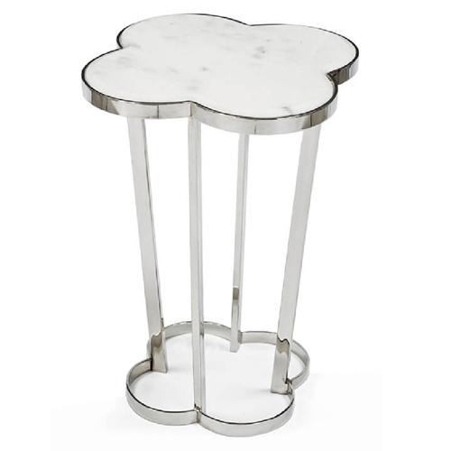 Regina Andrew Home Clover Table - Polished Nickel 30-1009PN