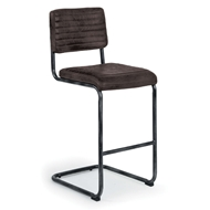 Regina Andrew Home Dylan Bar Stool - Set of 2 - Distressed Whiskey 32-1023BRN