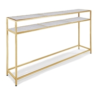 Regina Andrew Home Echelon Console Table - Natural Brass