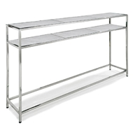 Regina Andrew Home Echelon Console Table - Polished Nickel