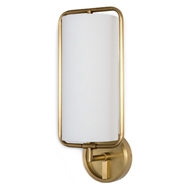 Regina Andrew Lighting Geo Rectangle Sconce - Natural Brass 15-1052NB
