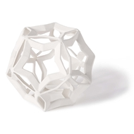 Regina Andrew Home Geometric Star Large - White