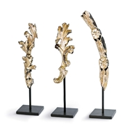 Regina Andrew Home Gilded Artifacts Set of 3