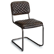 Regina Andrew Home Jaxon Chair - Set of 2 - Java Black Leather
