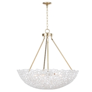 Regina Andrew Lighting Jett Chandelier - White 16-1145WT