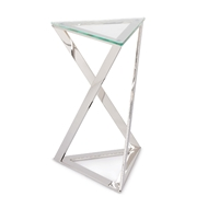 Regina Andrew Home London Side Table - Polished Nickel