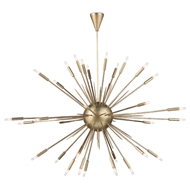 Regina Andrew Lighting Nebula Chandelier Large - Natural Brass 16-1115NB