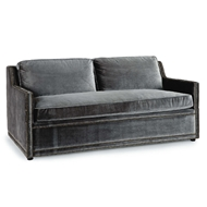 Regina Andrew Home Posh Sofa - Charcoal Grey