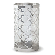 Regina Andrew Home Quatrefoil Hurricane Large - Nickel