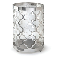 Regina Andrew Home Quatrefoil Hurricane Small - Nickel