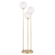 Regina Andrew Lighting Rio Triple Floor Lamp - Natural Brass 14-1028NB