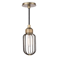 Regina Andrew Lighting Rupert Pendant - Worn Steel 16-1121WS