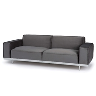 Regina Andrew Home Sabrina Velvet Sofa - City Grey