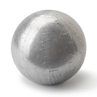 Regina Andrew Home Sheet Metal Sphere Medium - Silver