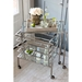 Regina Andrew Home Sidecar Bar Cart - Polished Nickel 31-1021