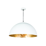 Regina Andrew Lighting Sigmund Pendant Large - White and Gold 16-1091WT