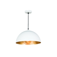 Regina Andrew Lighting Sigmund Pendant Small - White and Gold 16-1090WT